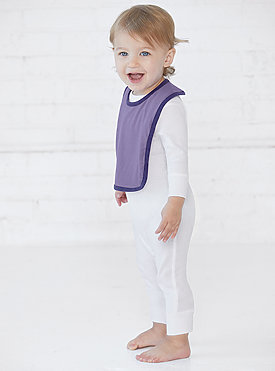 INFANT CONTRAST TRIM BIB