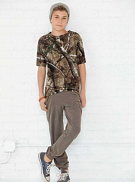 YOUTH REALTREE CAMO TEE