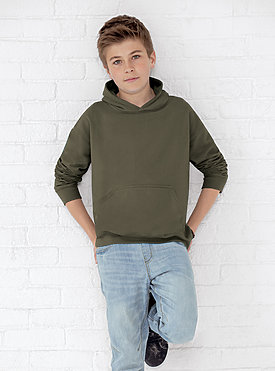 YOUTH PULLOVER FLEECE HOODIE