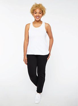 LADIES RELAXED RACERBACK TANK