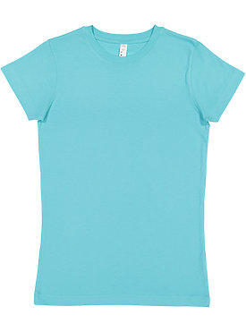 LADIES FITTED FINE JERSEY TEE