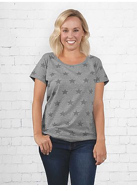LADIES FIVE STAR TEE