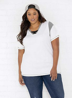 LADIES CURVY GAMEDAY LACE-UP