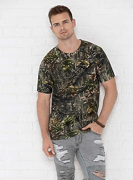MENS LICENSED CAMO TEE