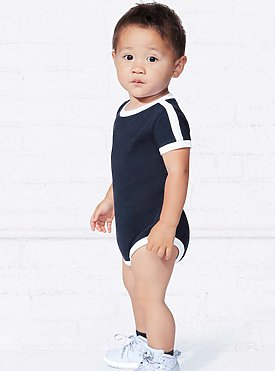 INFANT RETRO RINGER BODYSUIT
