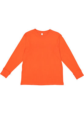 YOUTH LNG SLV FINE JERSEY TEE