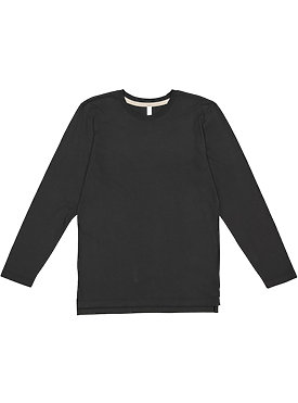 ADULT LNG SLV FINE JERSEY TEE