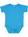 INFANT BABY RIB BODYSUIT Aqua Open