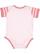 INFANT BABY RIB BODYSUIT Blrina/Blrina-Mauv Strp/Mauv Back