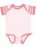 INFANT BABY RIB BODYSUIT Blrina/Blrina-Mauv Strp/Mauv Open