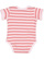 INFANT BABY RIB BODYSUIT Ballerina-Mauvelous Stripe Back