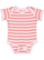 INFANT BABY RIB BODYSUIT Ballerina-Mauvelous Stripe Open