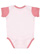 INFANT BABY RIB BODYSUIT Ballerina/Mauvelous Back