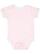 INFANT BABY RIB BODYSUIT Blrina/Blrina-Wht Stripe/Wht Open