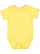 INFANT BABY RIB BODYSUIT Butter Open