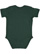 INFANT BABY RIB BODYSUIT Forest Back