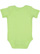 INFANT BABY RIB BODYSUIT Key Lime Back