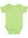 INFANT BABY RIB BODYSUIT Key Lime Open