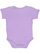 INFANT BABY RIB BODYSUIT Lavender Back