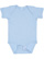 INFANT BABY RIB BODYSUIT Light Blue Open