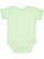 INFANT BABY RIB BODYSUIT Mint Back