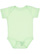 INFANT BABY RIB BODYSUIT Mint Open