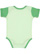 INFANT BABY RIB BODYSUIT Mint/Grass Back