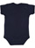 INFANT BABY RIB BODYSUIT Navy Back
