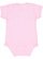 INFANT BABY RIB BODYSUIT Pink Back