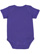 INFANT BABY RIB BODYSUIT Purple Back