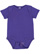 INFANT BABY RIB BODYSUIT Purple Open