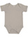 INFANT BABY RIB BODYSUIT Titanium Open