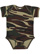 INFANT CAMO BABY RIB BODYSUIT Green Woodland Open