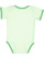 INFANT BOW TIE BODYSUIT Mint/Grass Back