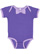 INFANT BOW TIE BODYSUIT Purple/Lavender