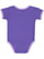INFANT BOW TIE BODYSUIT Purple/Lavender Back