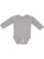 INFANT LONG SLEEVE BODYSUIT Heather Open