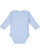 INFANT LONG SLEEVE BODYSUIT Light Blue Back