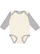 INFANT LONG SLEEVE BODYSUIT Natural/Heather