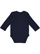 INFANT LONG SLEEVE BODYSUIT Navy Back