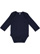 INFANT LONG SLEEVE BODYSUIT Navy Open