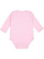 INFANT LONG SLEEVE BODYSUIT Pink Back