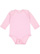 INFANT LONG SLEEVE BODYSUIT Pink Open