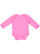 INFANT LONG SLEEVE BODYSUIT Raspberry