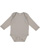 INFANT LONG SLEEVE BODYSUIT Titanium Open
