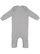 INFANT BABY RIB COVERALL Heather