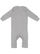 INFANT BABY RIB COVERALL Heather Back