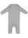INFANT BABY RIB COVERALL Heather Open