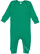 INFANT BABY RIB COVERALL Kelly Open