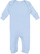 INFANT BABY RIB COVERALL Light Blue